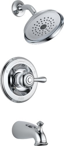 Delta 14478-SHL Leland Monitor 14 Series Tub and Shower Trim, Chrome