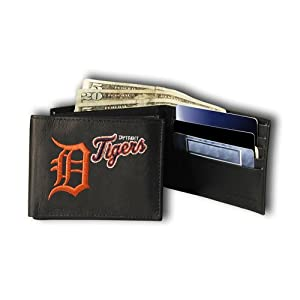 MLB Detroit Tigers Embroidered Billfold