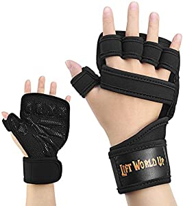 Giveaway: NUMYTON Weight Lifting Gloves with Wrist Support for Gym…