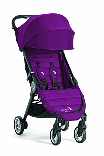 Baby Jogger City Tour Stroller Compact Travel Stroller Lightweight Baby Stroller with Backpack-Style Carry Bag, Perfect for Travel, Violet