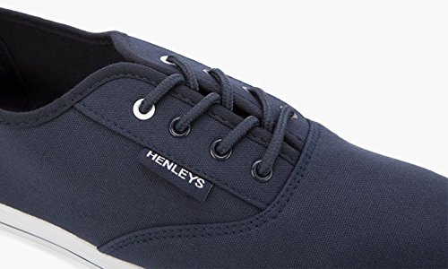 Henley Basso Eu navy 40 Uomo Collo Blu 7zw7qpv