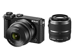 Nikon 1 J5 Double Zoom Lens kit [Black]- International Version (No Warranty)