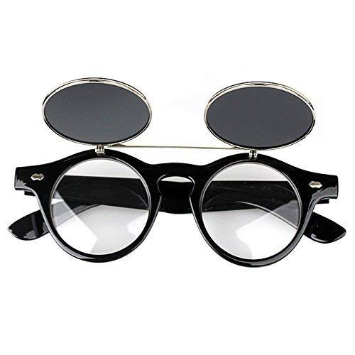 B Sol Gafas Sol para protección Estilo Vintage AiBarle y Mujer A Hombre Gafas de 116 Mujer UV de con B HqnWOwWPxz