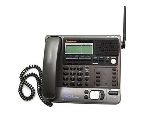 2.4 Ghz Phone System - PANASONIC KX-TG4000B 2.4 GHZ 4-LINE PHONE SYSTEM WITH DIGITAL VOICEMAIL SYSTEM