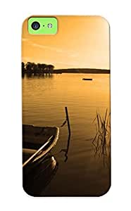 22f0e2b2118 Autumn Lake Morning Awesome High Quality Iphone 5c Case Skin/perfect Gift For Christmas Day