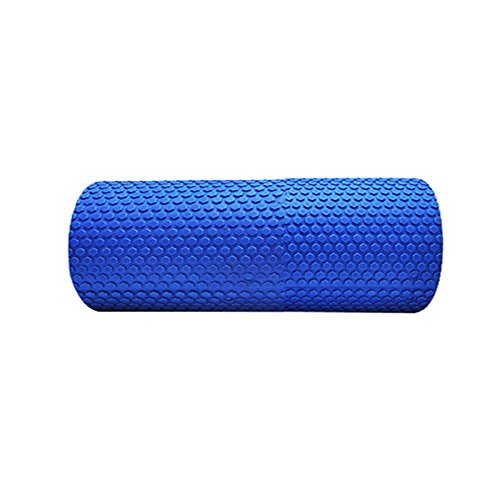 Denshine High Density Floating Point EVA Yoga Pilates Fitness Gym Foam Roller Massage BLUE