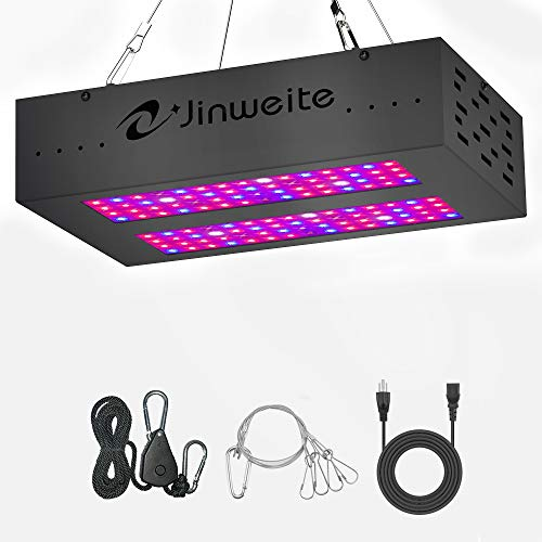 400w Hps Plant Grow Light - LED Grow Light 600W Jinweite,with Newest Secondary Optical Design,Full Spectrum Grow Lights for Indoor Plants Veg and Flower (Replaced 400W HPS Light,Actual Power Consumption 100W) (600W)