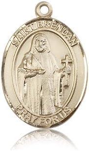 14ktゴールド聖Brendanナビゲータのメダル