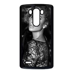 LG G3 Cell Phone Case Black_Jennifer Lopez Black And White Utbnd