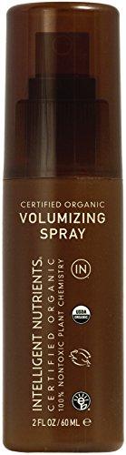 Intelligent Nutrients Travel Size Volumizing Spray - Non-Aerosol Hair Spray for Volume, Texture & Hold (2 oz)