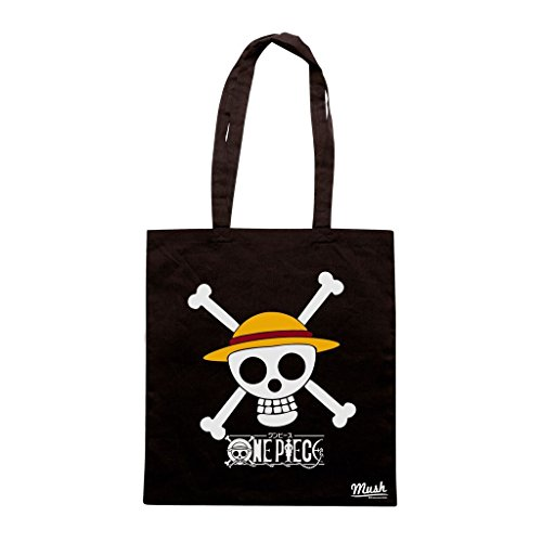 Borsa One Piece Skull - Nera - Cartoon by Mush Dress Your Style