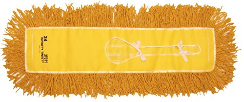Golden Star AJU24CITY Jumbo Infinity Twist Dust Mop Head, 5'' x 24'', Yellow (Pack of 12) by GoldenStar