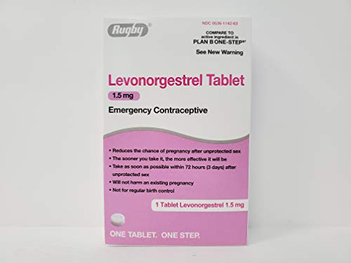 Rugby Levonorgestrel 1.5mg Emergency Contraceptive Tablet (Compare to Plan B One Step)