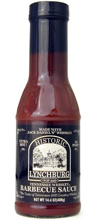 Historic Lychburg Tennessee Whiskey Barbecue Sauce - EXTRA H