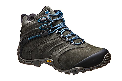9dca96df5f4 Merrell Chameleon II Waterproof Mid Leather J09377 Mens Hiking Boots Shoes  Beluga (46)  Amazon.co.uk  Shoes   Bags
