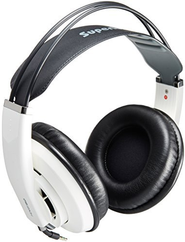 Superlux HD-681 EVO Professional Monitoring Headphones, White
