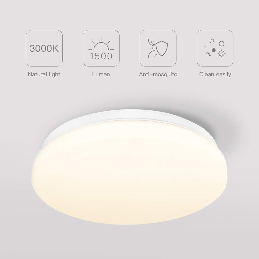 Plafoniera a LED impermeabile TECKIN