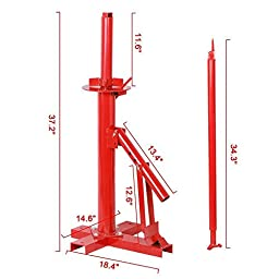 Go2buy New Manual Portable Hand Tire Changer Bead Breaker Tool Mounting Tire Changer Machine