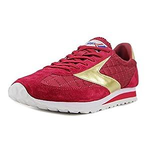 Brooks Heritage Women's Vanguard Red Dahlia/Gold Sneaker 7 B (M)