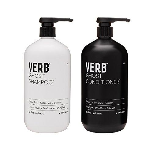 Verb Ghost Shampoo & Conditioner Set, 32 Fl Oz