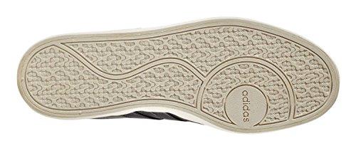 adidas VLCOURT VULC - Zapatillas deportivas para Hombre, Negro - (NEGBAS/NEGBAS/MADERA) 46 2/3 negro