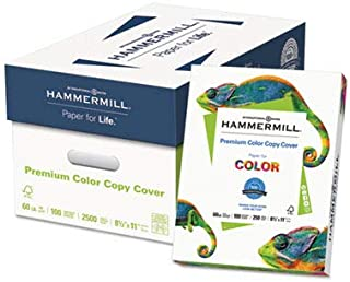 product image for Hammermill 122549 Copier Digital Cover Stock, 60 lbs, 8 1/2 x 11, Photo White, 250 Sheets