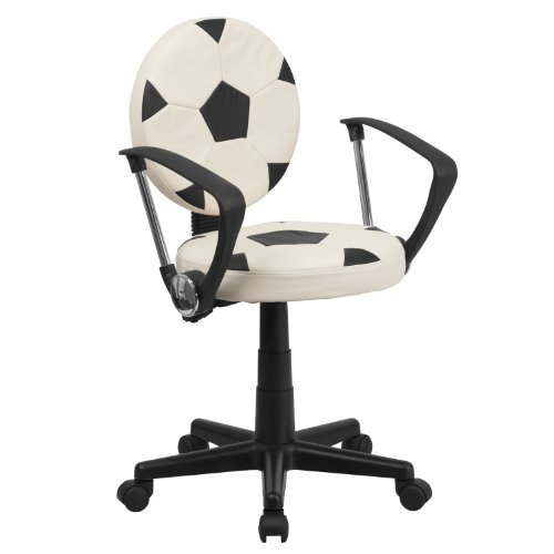 MFO Soccer Task Chair with Arms by My Friendly Office