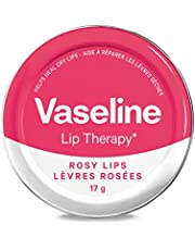 Vaseline Lip Therapy Balm Tin for dry lips Rosy Lips moisturizing 17 g