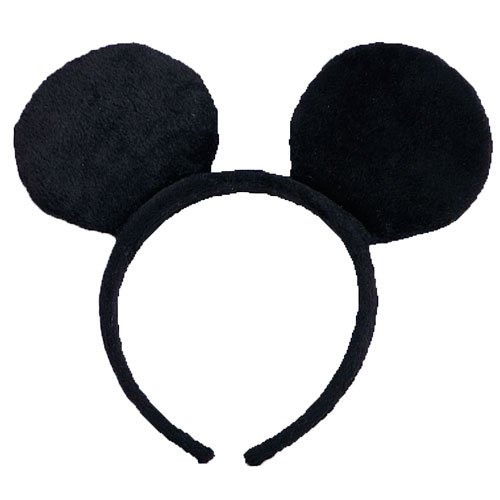 Black Mr. Mouse Ears By Dress Up America (Mickey Mouse Ears Costume)