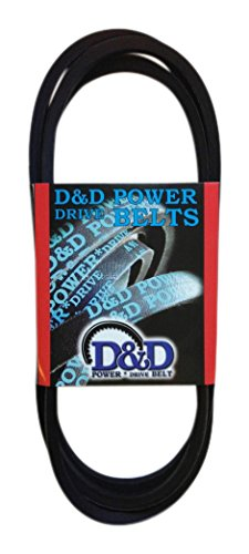 D/&D PowerDrive 4050143 Lockwood Corp Replacement Belt 1 -Band Rubber 274 Length OffRoad Belts 274 Length C