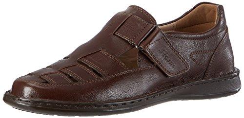Sioux Elcino - Zapatillas de casa de cuero hombre marrón - Braun (setter)