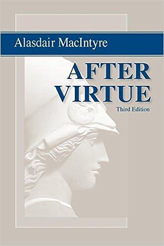 Image result for macintyre, after virtue