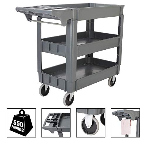 Top 10 Utility Carts With Wheels Heavy Duty Flat Top Of