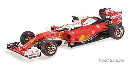 Ferrari SF16-H F1 Italy GP 2016 Sebastian Vettel #5 1/18 Model Car by BBR 181625
