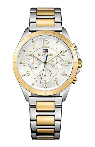 Tommy Hilfiger Damen-Armbanduhr Analog Quarz Edelstahl beschichtet 1781607