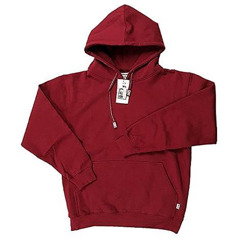 Pro Club Men s Heavyweight Pullover Hoodie Sweatshirt - Burgundy Pro Club   5XL 711b00fa4cb2