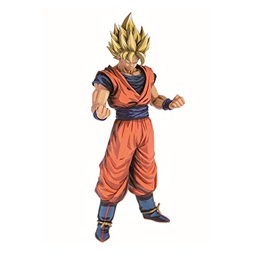 Action Figure Grandista Son Goku Saiyajin Manga Dimension Banpresto Multicores