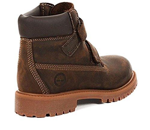 TIMBERLAND Authentic 6 IN 80906 Unisex - Kinder Stiefel, Braun 40 EU