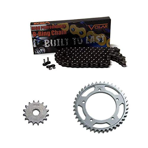 Black 2012-2018 BMW S1000RR O-Ring Chain and Sprocket Kit