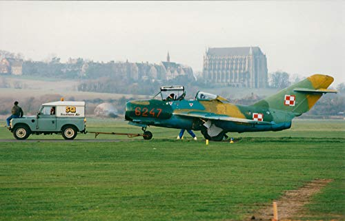Vintage photo of Aircraft Mig 15