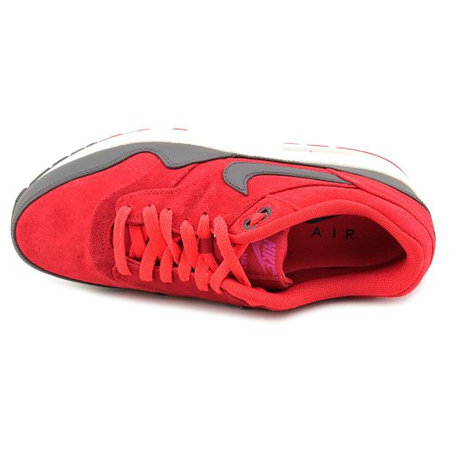 Nike Heren Air Max 1 Premium Rood Antraciet 512033-606 Gym Rood / Antraciet-sail-rave Pink