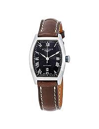 Longines Evidenza Black Dial Automatic Ladies Watch L2.142.4.51.2