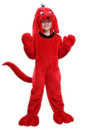 Clifford Big Red Dog Halloween Costumes (Clifford the Big Red Dog Kids Costume)