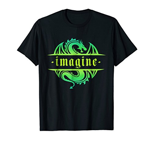 IMAGINE Fantasy Dragon Tattoo ()