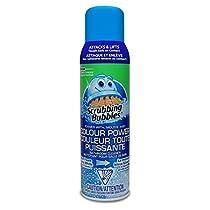 Scrubbing Bubbles Bathroom Cleaner Foamer with Colour Power,567 Gram