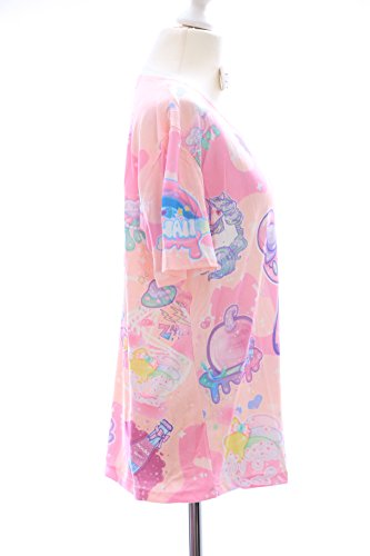 T-06 Lolita T-Shirt Bär Bear Fantasy Harajuku Japan Trend Fashion Süß Kawaii-Story