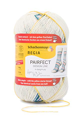 Regia Pairfect Design Line 4-Ply by Arne & Carlos Sock Yarn (9137 - Summer)