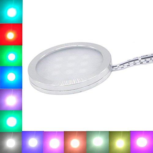 Rgb Color Changing Led Under Cabinet Lighting Kit 6 Packs