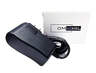 OMNIHIL 9V AC Power Adapter PSU for Schwinn 245 Recumbent Bike (8 Foot Long Cable)
