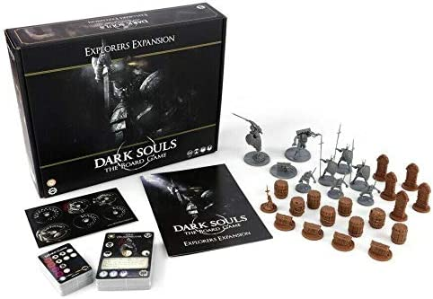 Steamforged Dark Souls: The Board Game - Explorers Expansion ...
